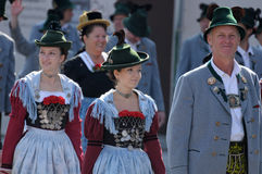 Oktoberfest parade in munich Royalty Free Stock Photography