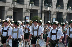 Oktoberfest parade in munich Stock Images