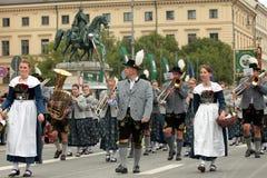 Oktoberfest parade Royalty Free Stock Photos