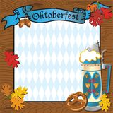 Oktoberfest Party Invitation Royalty Free Stock Photography