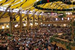 Oktoberfest paviljong Royaltyfri Fotografi