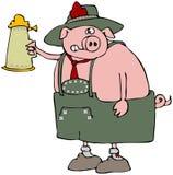 Oktoberfest Pig Stock Photography