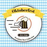 oktoberfest plakat Zdjęcia Royalty Free