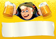 Oktoberfest Poster royalty free illustration