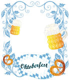 Oktoberfest poster Royalty Free Stock Photo