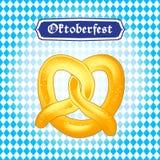 Oktoberfest pretzel Stock Photo