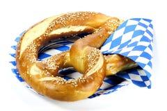 Oktoberfest pretzel Stock Photography