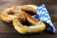Oktoberfest pretzel Stock Images