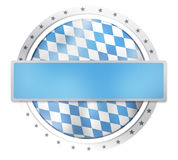 Oktoberfest Round Icon Stars Borders Royalty Free Stock Image