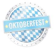 Oktoberfest Round Icon Stars Borders. Graphic illustration design fresh colors Vector Illustration