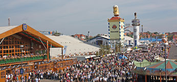 Oktoberfest Scenery Royalty Free Stock Images