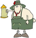 Oktoberfest Sheep Stock Image