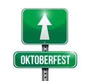 Oktoberfest sign illustration design Stock Image