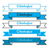 Oktoberfest simple banners Stock Photography