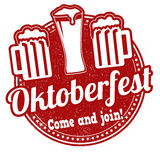 Oktoberfest stamp Stock Images