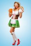 Oktoberfest-Stimmung Stockfoto