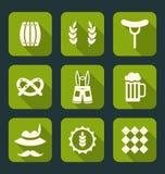 Oktoberfest Symbols Stock Image