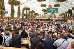 Oktoberfest Tent Royalty Free Stock Photo