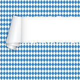 Oktoberfest - torn-paper with copy space Royalty Free Stock Photo