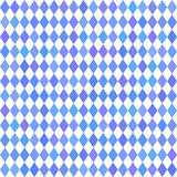 Oktoberfest traditional Bavarian rhombus background. Royalty Free Stock Photography