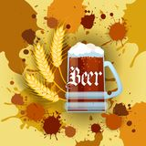 Oktoberfest Traditional Beer Festival Banner Holiday Poster Royalty Free Stock Photo