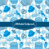 Oktoberfest vector background Royalty Free Stock Image