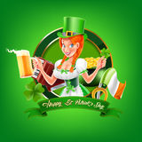 Oktoberfest. Vector  banner for party Royalty Free Stock Image