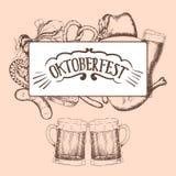 Oktoberfest vector illustration Stock Image