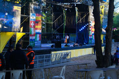 Oktoberfest 2016 Villa Algemene Belgrano Royalty-vrije Stock Afbeelding