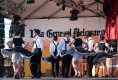Oktoberfest 2013 Villa General Belgrano. Argentina. BALLET IMMER TRUFF y Representando a Alemania desde La Pampa royalty free stock photos