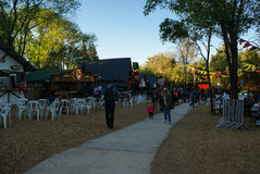 Oktoberfest 2016 Villa General Belgrano Stock Image