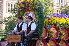 Oktoberfest w Monachium Obrazy Royalty Free