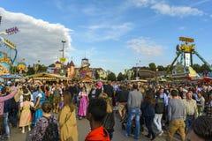 Oktoberfest 2015 w Monachium, Niemcy Zdjęcie Royalty Free