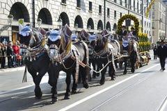 Oktoberfest w Munich zdjęcia royalty free
