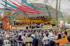 Oktoberfest w willa generale Belgrano Obrazy Royalty Free