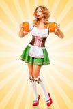 Oktoberfest waitress. Stock Images