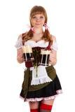 Oktoberfest waitress Stock Images