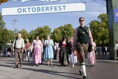 Oktoberfest Wiesn Royaltyfri Foto