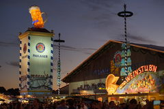 Oktoberfest/ Wiesn. Oktoberfest 2016 in Munich, Bavaria is the largest festival in the world with up to six million visitors and over six millions of liters of Royalty Free Stock Image