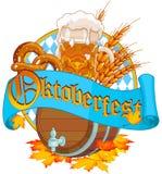 Oktoberfestbeeld stock afbeelding