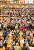 Oktoberfestpaviljoen Stock Afbeeldingen