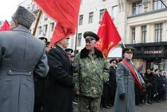 Oktoberrevolutie Stock Foto