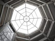 oktogontakfönster Arkivbilder