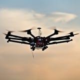Oktokopter, copter, drone Stock Photos