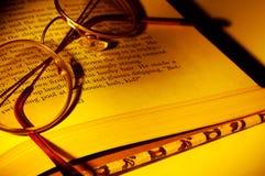 okularów czytać zdjęcie royalty free