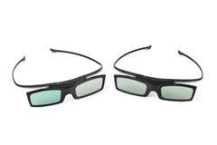 okulary 3 d Obraz Stock