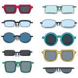 okulary ilustracji