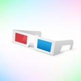 okulary 3 d Fotografia Royalty Free