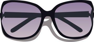 okulary eleganckie Obrazy Royalty Free