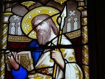 okulary kościoła oznaczony przez okno Zdjęcie Stock
